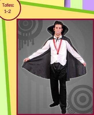disfraz drácula adulto talle 2 excelente calidad en belgrano