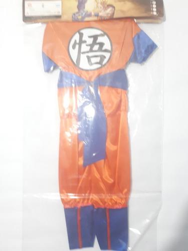 disfraz dragon ball z goku-battle of gods talle 1 candela