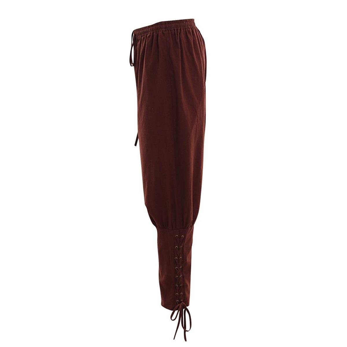 Disfraz Dunhao Cos Men S Medieval Pants Viking Trousers D
