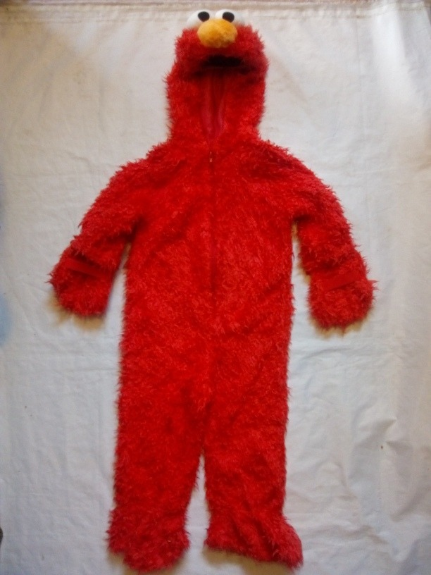 Disfraz Elmo Talla 4 Sesame Street Fiesta Tema Mod 22ck