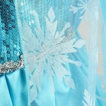 disfraz elsa frozen corona mechon cetro y prendedor unicos¡¡