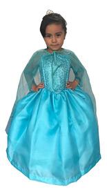 Disfraz Elsa Frozen Niña Anna Vestido Princesa Envío Gratis
