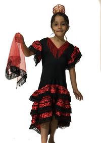 7a7ab825f6 Falda Flamenco Niña en Mercado Libre México
