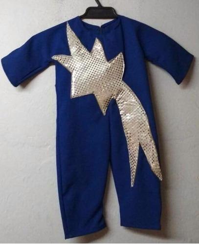 disfraz estrella / cometa talla 2