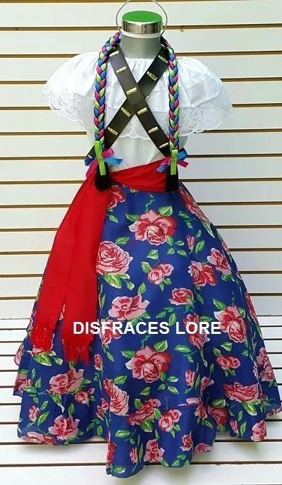 df6795fd3 Disfraz Falda Adelita Blusa Adelita Vestido Revolucion Mex ...
