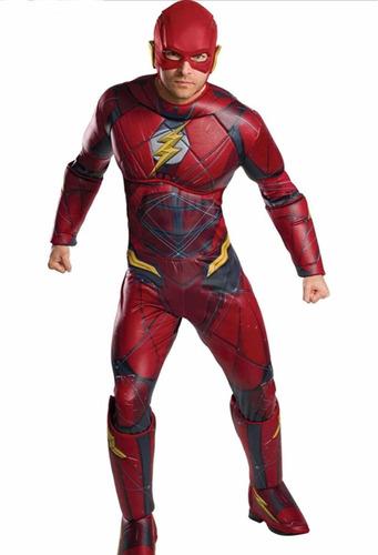 disfraz flash adulto  dc talla m/l