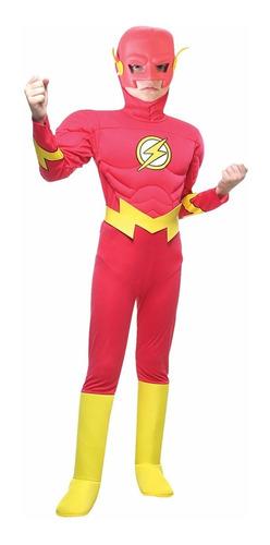 disfraz flash con musculos original sulamericana mundomanias