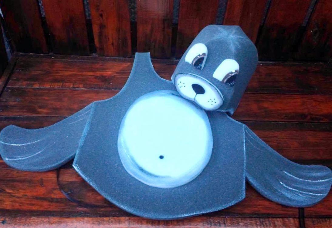 17788d1265b disfraz foca disfraz animales goma espuma cotillón. Cargando zoom.
