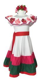 Disfraz Frida Kahlo Talles 10 Y 12
