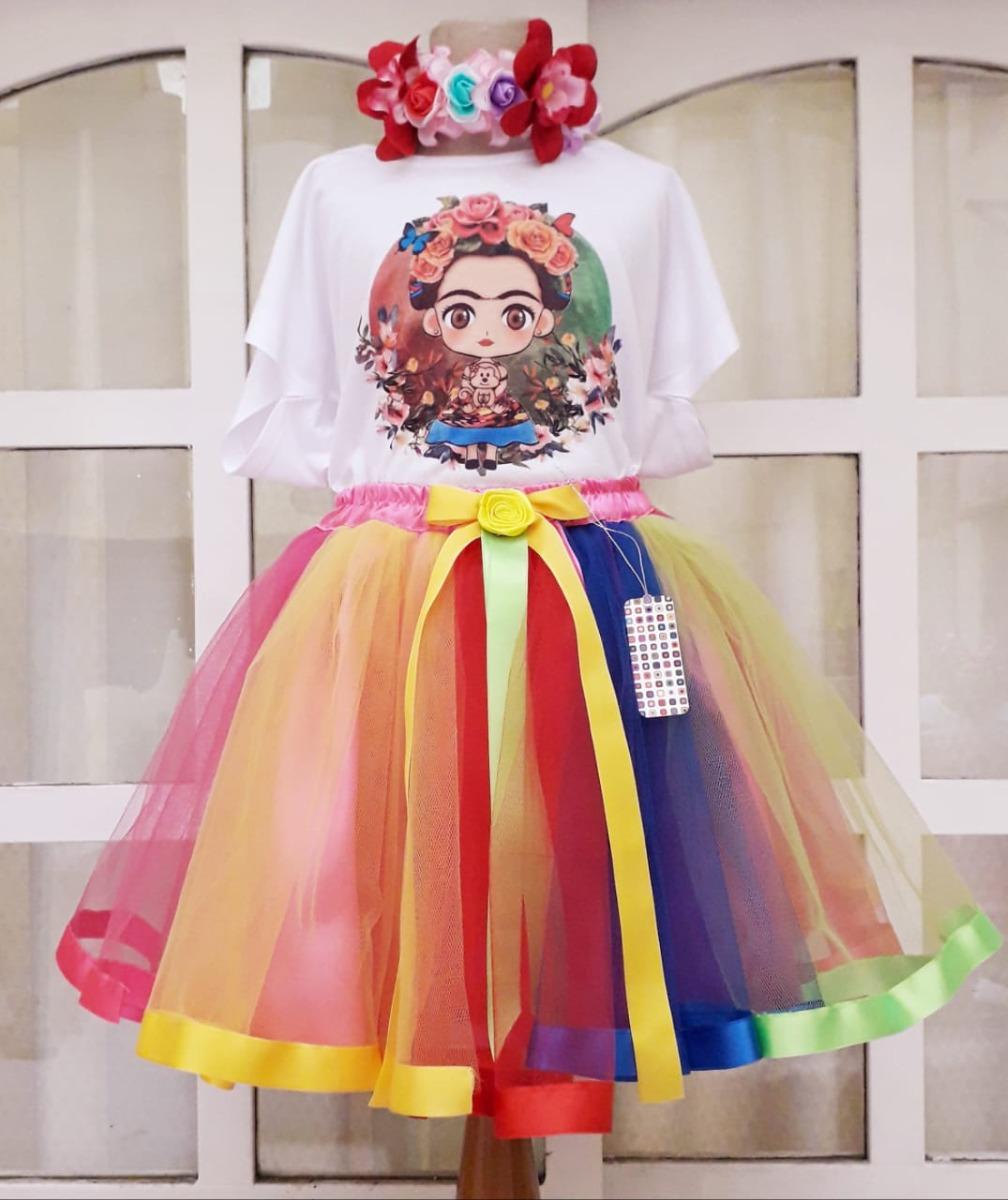 Disfraz Frida Kahlo Vestido Frida Vestido Tematico Frida