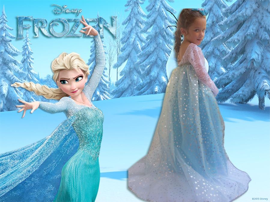Disfraz Princesa Frozen Elsa Nueva Pelicula Disney | Car ...