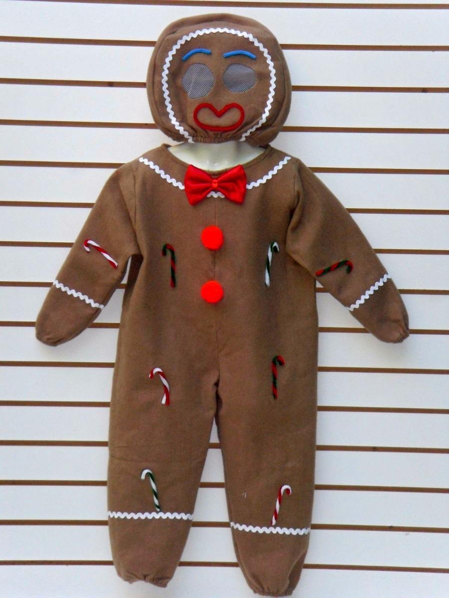 disfraz galleta de jengibre pastorelas fiestas navidad niños. Cargando zoom. adc2949e5d7c