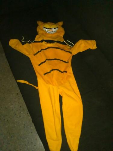 disfraz gato garfield
