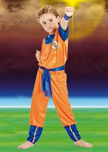 disfraz goku dragon ball z talle: 3 disfraces candela 44927