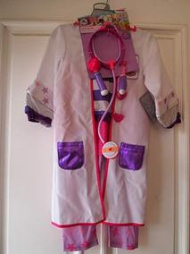 da5eb5e22 Disfraz Halloween Doctora Juguetes Talla 2t De Niña Disney