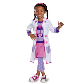 9b7060c4d Disfraz Halloween Doctora Juguetes Talla 2t De Niña Disguise