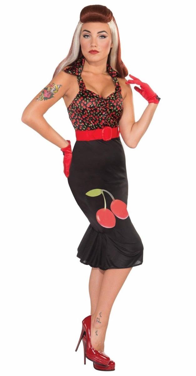 Disfraz Halloween Importado Mujer Retro Pin Up Años 50 130000