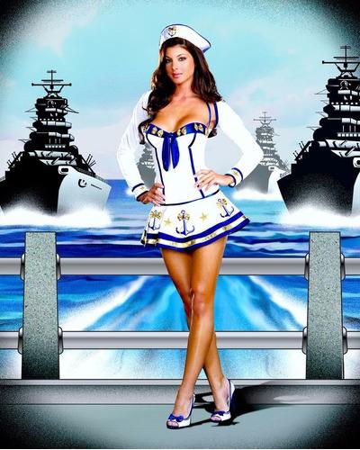 disfraz halloween mujer adulto marinera dreamgirl talla m