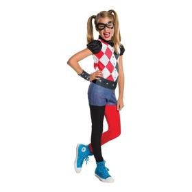 Disfraz Harley Quinn Suicide Squad Niña Talla S - Importado