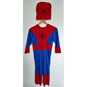 Disfraz Hombre Araña - Spiderman Con Mascara Niños