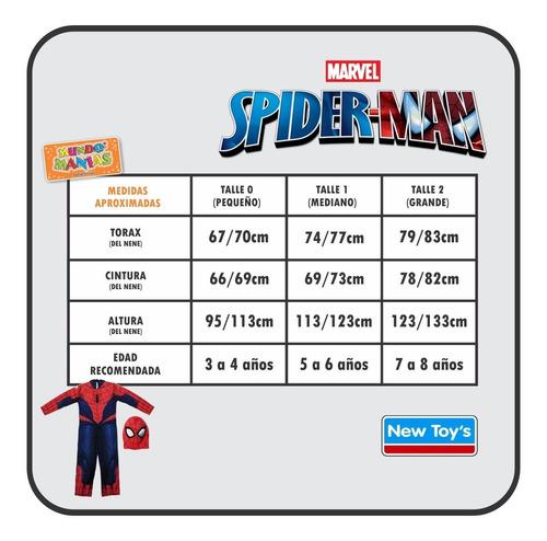 disfraz hombre araña spiderman original newtoys mundo manias