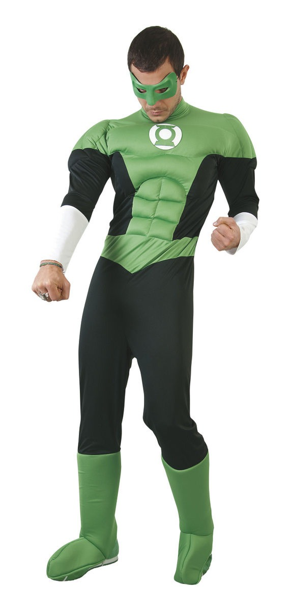 Disfraz Linterna Verde Hombre Disfraces Cachivache Halloween
