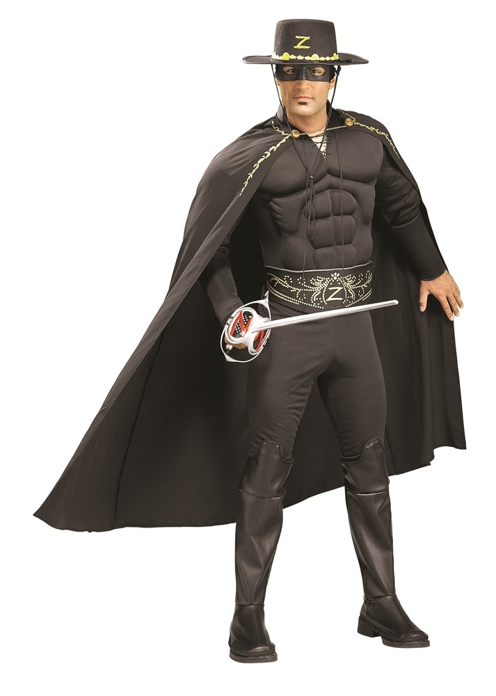 Disfraz Para Hombre Zorro Músculoso - Halloween -   302.550 en ... e663e6e7d4f4