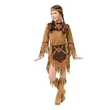 disfraz india princesa de los cabritos del traje de x-large