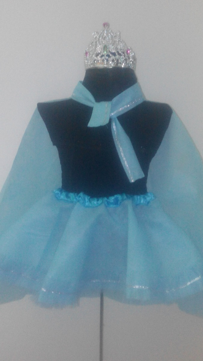 9b91f3f450 Disfraz Inspirado Elsa Frozen Tutu Capa Corona 2 A 6 Años -   240
