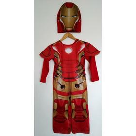 Disfraz Iron Man Avengers Marvel New Toys Con Mascara