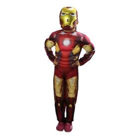 Disfraz Ironman Musculoso Calidad Premium Avenger Vengadores