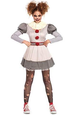 Disfraz It Payaso Mujer Para Halloween Fiesta Small Y Medium - $ 1,940.00 en Mercado Libre