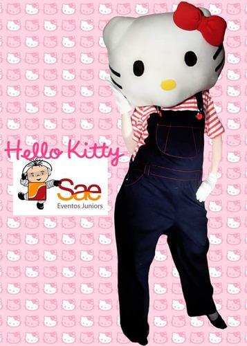 disfraz kitty muñeco cabezón
