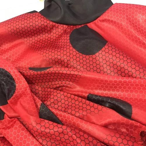 disfraz ladybug original peluca antifaz excelente