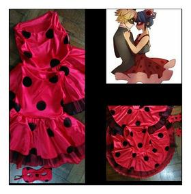Niñas Ladybug Disfraz Para Medida A Vestido Confeccionado ChdtQosrxB