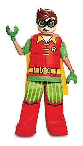 disfraz lego pelicula robin prestige disfraz infantil