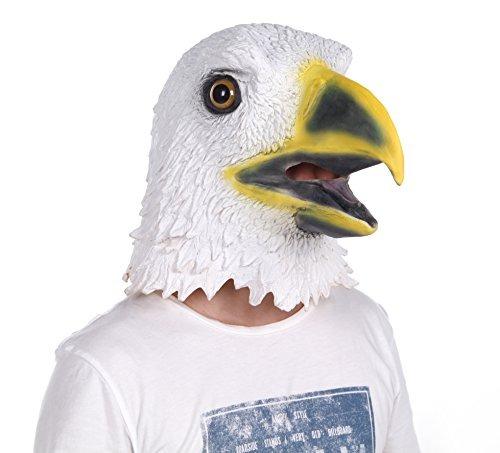Disfraz Lubber Máscara Cabeza Animal Águila Calva Blanca - $ 88.900 ...
