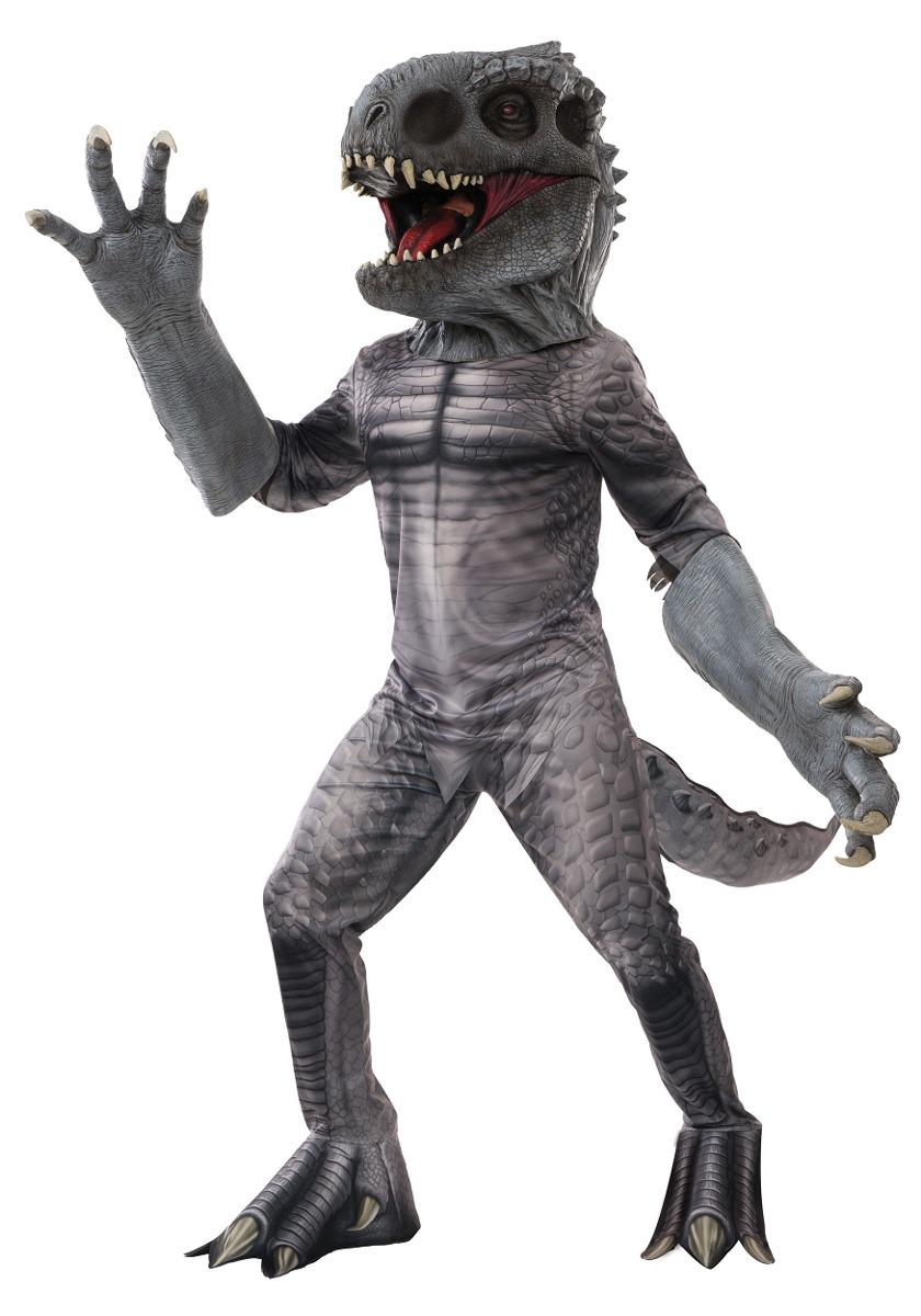 disfraz lujo indominus rex jurassic world dinosaurio adulto