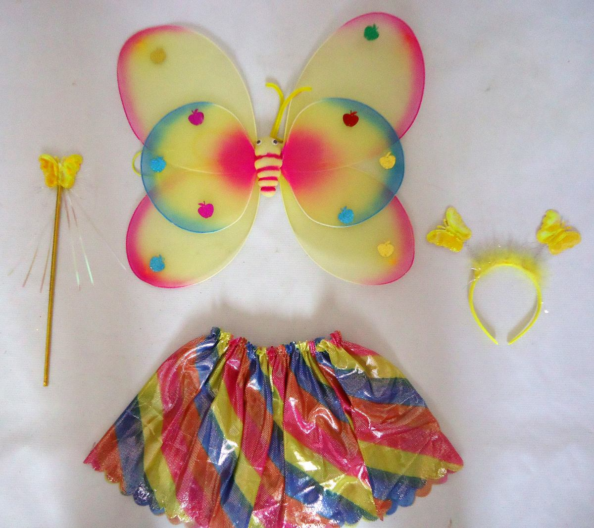 disfraz mariposa nia tamao standard