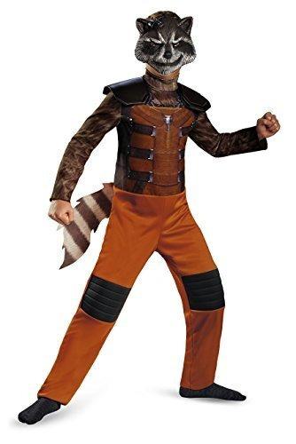 disfraz marvel guardianes de la galaxia rocket mapache clas