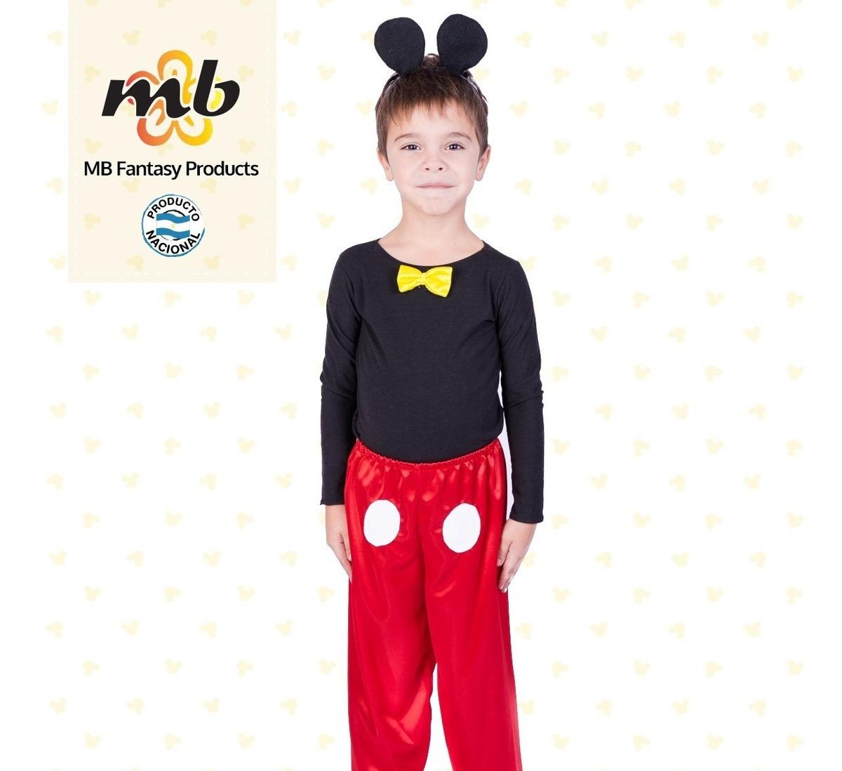 Disfraz Mickey Mouse - Oferta!! - $ 878,00 en Mercado Libre
