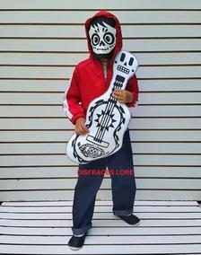 Boutique en ligne 299d1 08126 Disfraz Miguel Coco Guitarra Sudadera Pantalon Dia Muertos