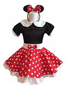 a823d122c Disfraz Minnie Mouse Rojo Y Negro