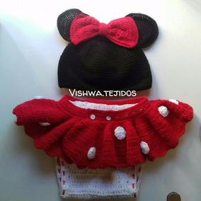 c39eee2eaf4 Disfraz Minnie Tejido Al Crochet. Book Fotos