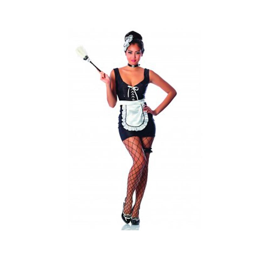 disfraz mucama sexy mujer adulto - halloween premium s. Cargando zoom. c76d54288db