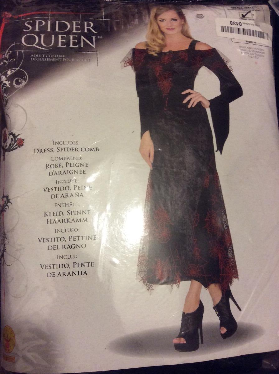 chica negra araña mujer Cargando zoom premiumimportado viuda disfraz talla XqOtUOw