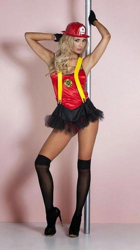 disfraz  mujer bombera sexy!+ varios modelos+medias regalos
