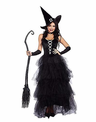 disfraz mujer bruja sexy vestido halloween dia brujas mod2