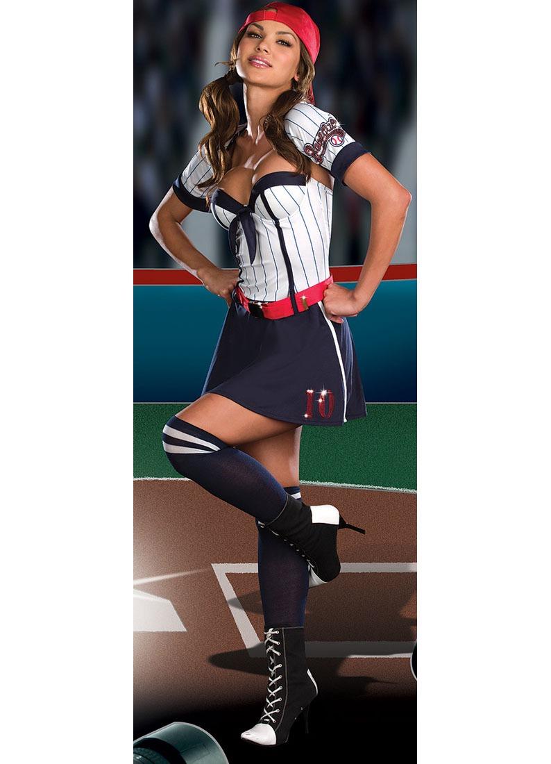 Disfraz De Beisbolista Sexy Para Mujer 8ab5e248524