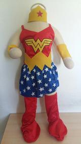Disfraz Mujer Maravilla Para Nena